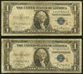 Small Size:Silver Certificates, Fr. 1609 $1 1935A R Silver Certificate. Very Good;...