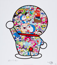 Takashi Murakami (b. 1962) Doraemon's Daily Life, 2018 Offset lithograph in colors on smooth wove pa
