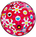 Prints & Multiples, Takashi Murakami (b. 1962). Flower Ball (3D) - Papyrus, 2013. Offset lithograph in colors on smooth wove paper. 28 inche...