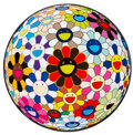 Prints & Multiples, Takashi Murakami (b. 1962). Flower Ball (Lots of Colors), 2013. Offset lithograph in colors on smooth wove paper. 28 inc...