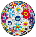 Prints & Multiples, Takashi Murakami (b. 1962). Flower Ball (3D) Sequoia Sempervirens, 2013. Offset lithograph in colors on smooth wove pape...