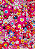 Prints & Multiples, Takashi Murakami (b. 1962). An Homage to Monopink 1960 B, 2012. Offset lithograph in colors on smooth wove paper. 29 x 2...