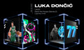 Basketball Collectibles:Others, Luka Doncic NBA Top Shot (Series 2) Legendary Deck The Hoops #1/85....