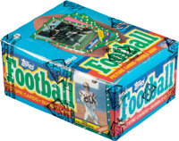 1986 Topps Football Wax Box With 36 Unopened Packs - Jerry Rice Rookie Year!