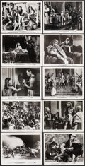 """Movie Posters:Drama, The Ten Commandments (Paramount, 1956/R-1970s/1970s). Very Fine. Photos (27) & Restrike Color Photo (8"""" X 10""""). Drama.. ... (Total: 28 Items)"""
