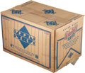 Baseball Cards:Unopened Packs/Display Boxes, 1991 Upper Deck Baseball Low Numbers Case With Twenty Boxes. ...