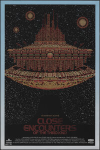 Close Encounters of the Third Kind, 12/100 by Todd Slater (Mondo, 2011). Very Fine/Near Mint. Signed and Hand Numbered L...