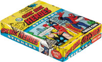 """1975 Topps Marvel """"Comic Book Heroes"""" Stickers Wax Box with 36 Unopened Packs"""
