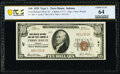 Terre Haute, IN - $10 1929 Ty. 1 First-McKeen National Bank & Trust Company Ch. # 47 PCGS Banknote Choice Unc 64...