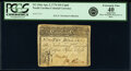 Colonial Notes:North Carolina, North Carolina April 2, 1776 $10 Cupid PCGS Apparent Extremely Fine 40.. ...