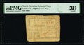 Colonial Notes:North Carolina, North Carolina August 8, 1778 $1/2 Behold! A New World PMG Very Fine 30.. ...