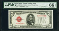 Small Size:Legal Tender Notes, Fr. 1528 $5 1928C Legal Tender Note. PMG Gem Uncirculated ...