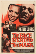 """Movie Posters:Film Noir, The Face Behind the Mask (Columbia, R-1955). Folded, Fine/Very Fine. One Sheet (27"""" X 41""""). Film Noir.. ..."""