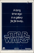 """Movie Posters:Science Fiction, Star Wars (20th Century Fox, 1977). Folded, Fine. One Sheet (27"""" X 41"""") & Uncut Pressbook (19 Pages, 11"""" X 8.5"""") Teaser Styl... (Total: 2 Items)"""