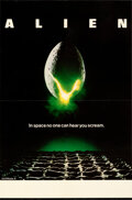 """Movie Posters:Science Fiction, Alien (20th Century Fox, 1979). Very Fine on Linen. British Double Crown (20"""" X 30"""").. ..."""