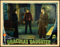 """Movie Posters:Horror, Dracula's Daughter (Universal, 1936). Fine/Very Fine. Lobby Card (11"""" X 14"""").. ..."""