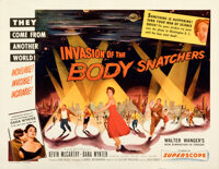 """Invasion of the Body Snatchers (Allied Artists, 1956). Rolled, Very Fine. Half Sheet (22"""" X 28"""") Style B"""