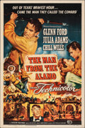 """Movie Posters:Western, The Man from the Alamo (Universal International, 1953). Folded, Very Fine-. One Sheet (27"""" X 41""""). Western.. ..."""