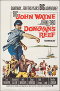"""Movie Posters:Comedy, Donovan's Reef (Paramount, 1963). Folded, Very Fine-. One Sheet (27"""" X 41""""). Comedy.. ..."""