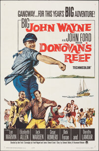 """Donovan's Reef (Paramount, 1963). Folded, Very Fine-. One Sheet (27"""" X 41""""). Comedy"""