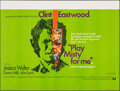 """Movie Posters:Thriller, Play Misty For Me (Universal, 1971). Folded, Very Fine-. British Quad (30"""" X 40""""). Thriller.. ..."""