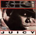 """Music Memorabilia:Autographs and Signed Items, Notorious B.I.G. Signed and Inscribed """"Juicy"""" 12-Inch Vinyl Single (Bad Boy, 78612-79006-1)...."""
