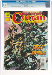 Savage Sword of Conan #235 (Marvel, 1995) CGC NM+ 9.6 White pages