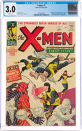X-Men #1 (Marvel, 1963) CGC GD/VG 3.0 White pages