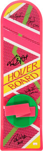Movie/TV Memorabilia:Autographs and Signed Items, Back to the Future Part II Cast Sign...