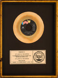 """Music Memorabilia:Awards, Foreigner """"I Want to Know What Love Is"""" RIAA Gold Sales Award...."""