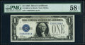 Small Size:Silver Certificates, Fr. 1600 $1 1928 Silver Certificates. C-A and D-A Blocks. ...