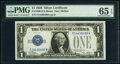 Small Size:Silver Certificates, Fr. 1600 $1 1928 Silver Certificate. PMG Gem Uncirculated ...