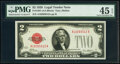 Fr. 1501 $2 1928 Legal Tender Note. PMG Choice Extremely Fine 45 EPQ