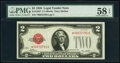 Fr. 1501* $2 1928 Legal Tender Star Note. PMG Choice About Unc 58 EPQ
