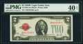 Small Size:Legal Tender Notes, Fr. 1503 $2 1928B Legal Tender Note. A-A Block. PMG Extrem...