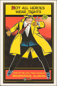 The Chester Gould Dick Tracy Museum (Illinois Department of Tourism, 2006). Rolled, Very Fine/Near Mint. Museum Poster (...