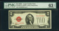 Small Size:Legal Tender Notes, Fr. 1504 $2 1928C Legal Tender Note. C-A Block. PMG Choice Uncirculated 63 EPQ.. ...