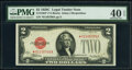 Small Size:Legal Tender Notes, Fr. 1504* $2 1928C Legal Tender Star Note. PMG Extremely F...