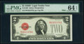 Small Size:Legal Tender Notes, Fr. 1505 $2 1928D Mule Legal Tender Note. B-A Block. PMG C...