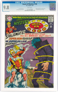 Silver Age (1956-1969):Miscellaneous, House of Mystery #168 (DC, 1967) CGC NM/MT 9.8 White pages....