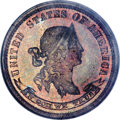 Patterns, 1869 10C Standard Silver Ten Cents, Judd-705, Pollock-784, R.7,PR65 Red and Brown PCGS....