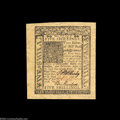 Colonial Notes:Delaware, Delaware January 1, 1776 5s Superb Gem New. A hugely ...
