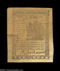Colonial Notes:Delaware, Delaware May 1, 1777 9d New. Moderately aged across 80% of ...