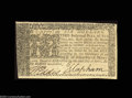 Colonial Notes:Maryland, Maryland April 10, 1774 $6 About New. Lightly center ...
