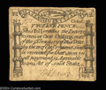 Colonial Notes:Massachusetts, Massachusetts October 16, 1778 12d Extremely Fine. A ...
