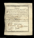 Colonial Notes:Massachusetts, State of Massachusetts Bay £40 6% Feb. 17, 1779. Anderson ...