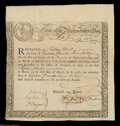 Colonial Notes:Massachusetts, Massachusetts Treasury Certificate. Listed as MA 10 in ...