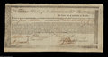 Colonial Notes:Massachusetts, High Grade Commodity Bond. Listed as MA 20 in the Anderson ...