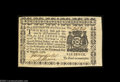 Colonial Notes:New York, New York August 13, 1776 $1/16 Gem New. A simply ...