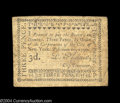 Colonial Notes:New York, New York City February 20, 1790 3d Fine. A very nice ...